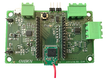 Evaluation kit for eStorm-B1 BLE module
